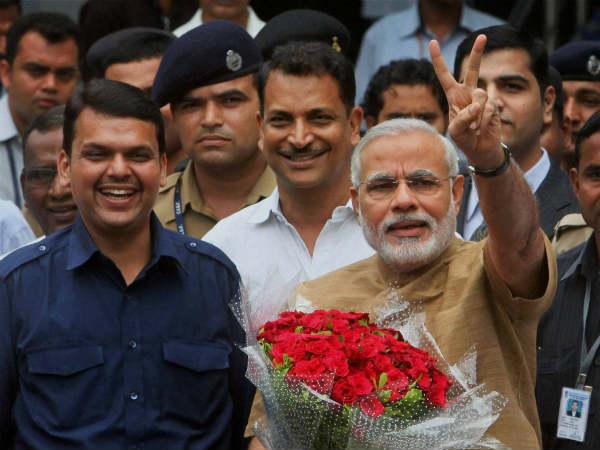 Photos Of Narendra Modi S 27 June Mumbai Visit