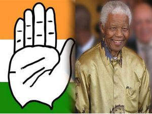 Gujarat Congress Declares Nelson Mandela As Dead