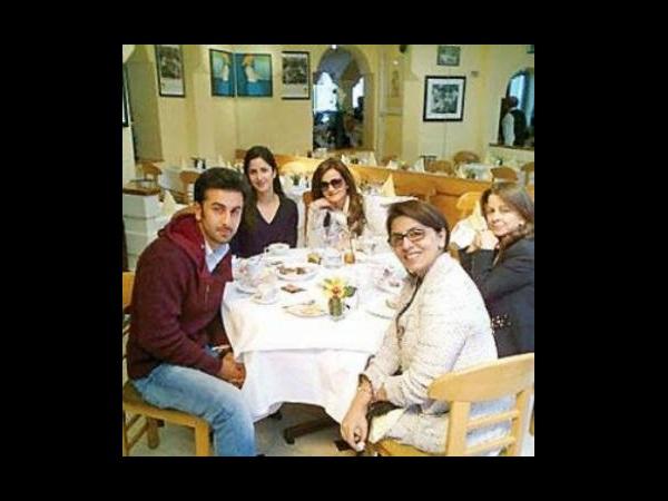Katrina Had Dinner With Ranbir Mother Neetu Kapoor