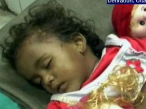 Year Old Abandoned Baby Found In Gaurikund