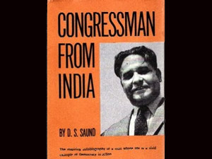 Indian Dalip Singh Saund Honored American Mp