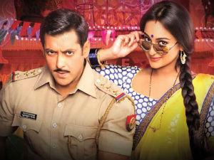 No Sonakshi Sinha In Salman Khans Dabangg