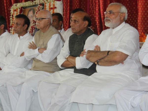 Lk Advadini Praised Narendra Modi Delhi Meeting Yesterday