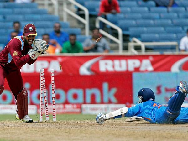 Johnson Charles Stars Windies Narrow Win Over India