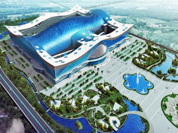 World S Biggest Building Opens China