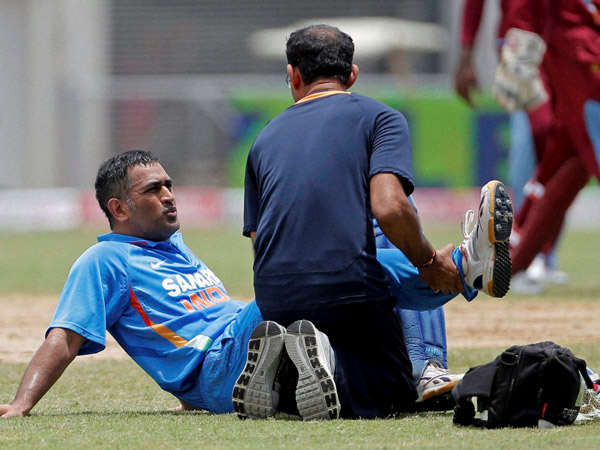 Ms Dhoni Ruled Of Tri Series Due Hamstring Injury