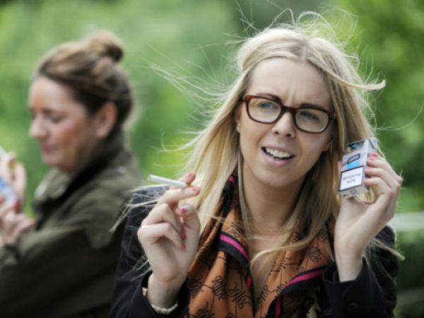 Now Cigarette Packet Talking To Quit Smoking