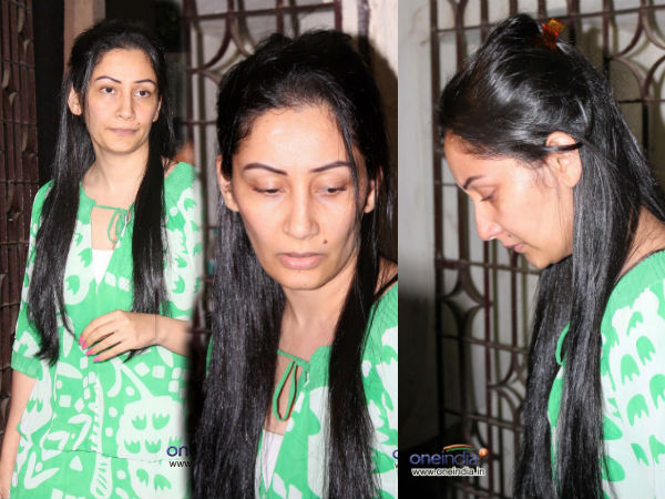 Manyata Dutt Looking Emotional Watching Policegiri
