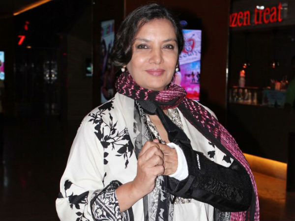 Shabana Azmi Hand Cast Six Weeks At Least