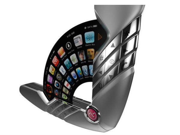 Lg Flutter Phone Is Like A Hand Fan