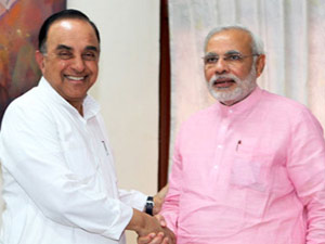 Modi S First Success Swamy Ready Merge His Party In Bjp