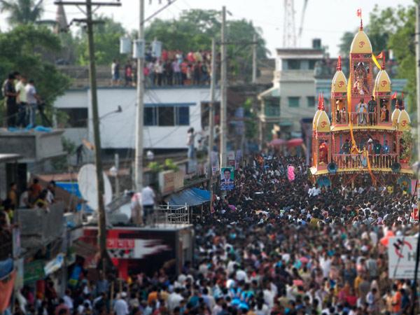 Jagannath Rath Yatra Begins Puri
