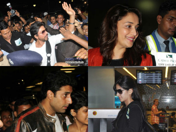 Bollywood Stars Arrived Macau For Iifa
