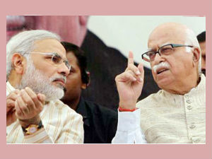 Advani Vetoes Narendra Modis Plan To Bring Yeddyurappa