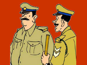 A West Bengal Policeman Did Urine On Face Of Man