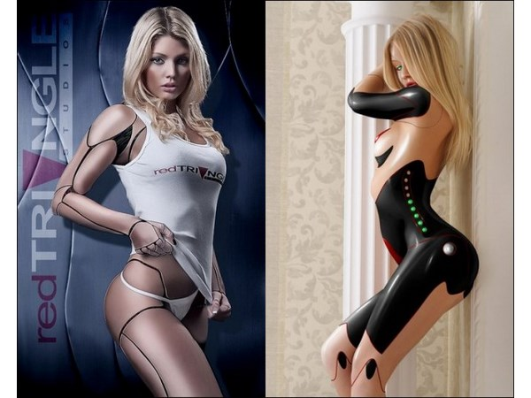 Amazing Hot And Beautiful Robot Girls Pic Gallery