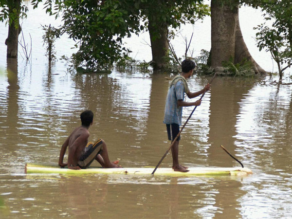 Flood Fury Continues Assam Nearly One Lakh People Hit