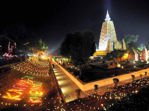 Serial Blasts Rock Mahabodhi Temple In Bodhgaya