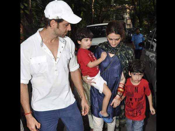Hrithik Roshan Writes Poem His Sons From Hospital