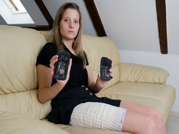 Samsung Galaxy S 3 Explodes Injured Girl