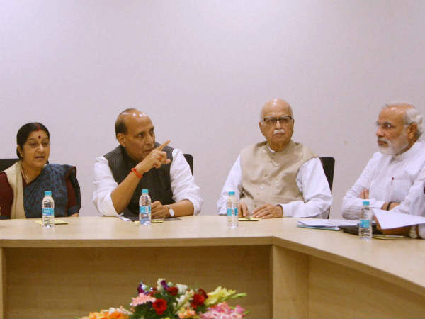 Bjp Finalises 2014 Plan Creates 15 Panels For Campaigning