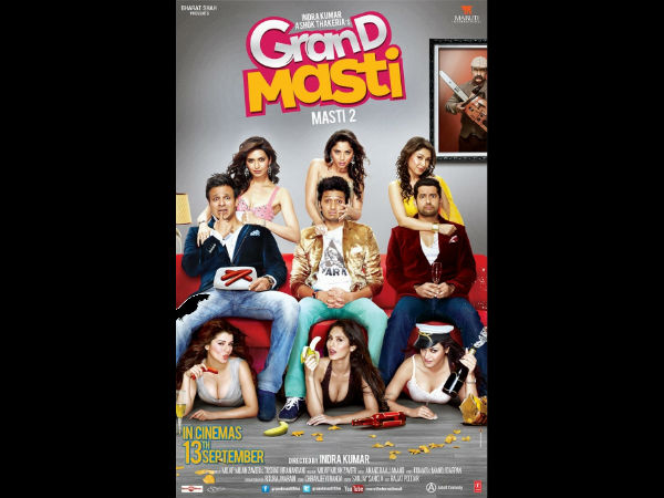 Trailer Of Movie Grand Masti Is Strictly For Adults
