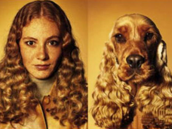 Fantastic Photos Of People Match Look With Their Dogs