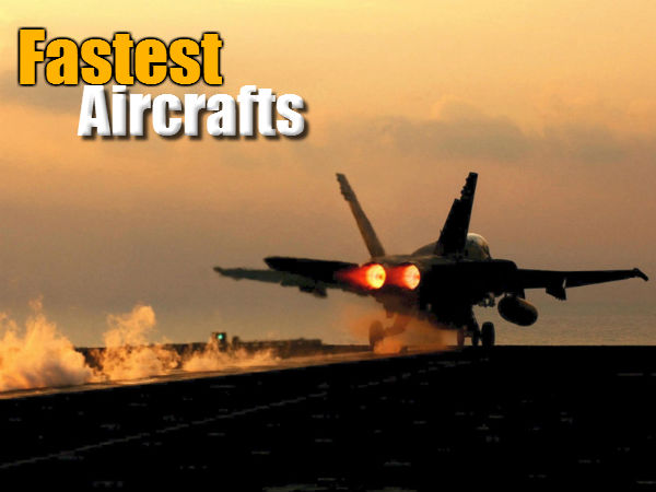 Top 10 Fastest Aircraft The World