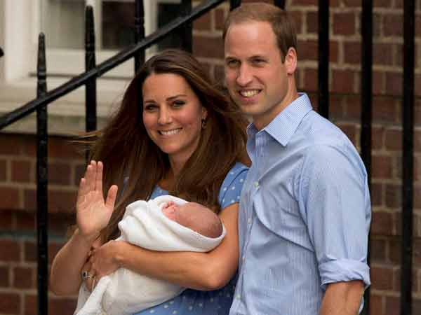 Britain S Royal Baby Boy S First Look See Picture
