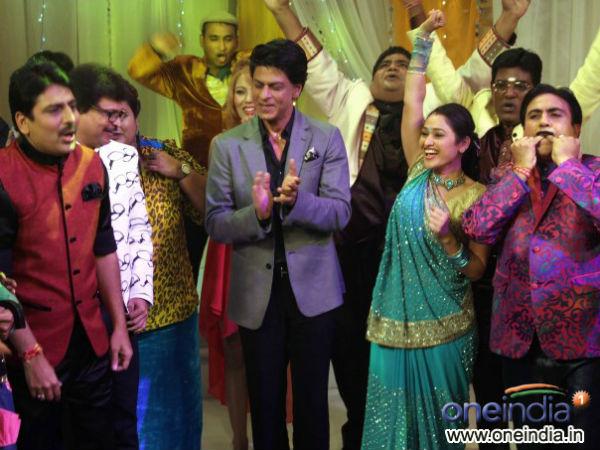 Chennai Express Promotion At Taarak Mehta Ka Ooltah Chashmah