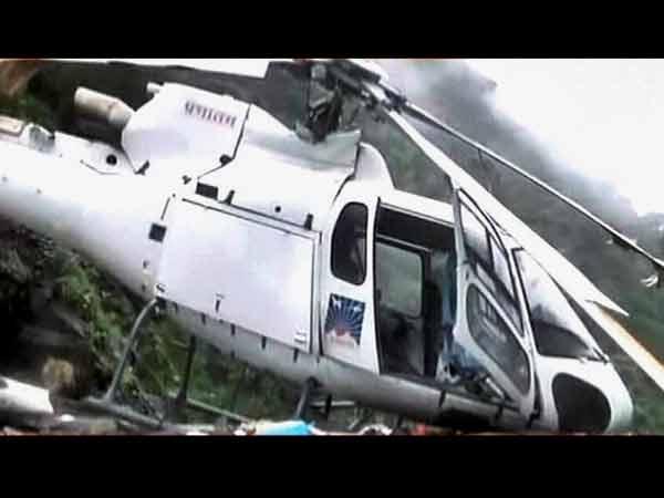 Two Killed Chopper Crash Uttarakhand