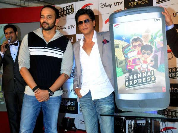 Shah Rukh Khan Launches Chennai Express Game