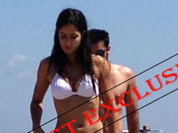 Katrina Kaif Ranbir Kapoor Spotted In Spain