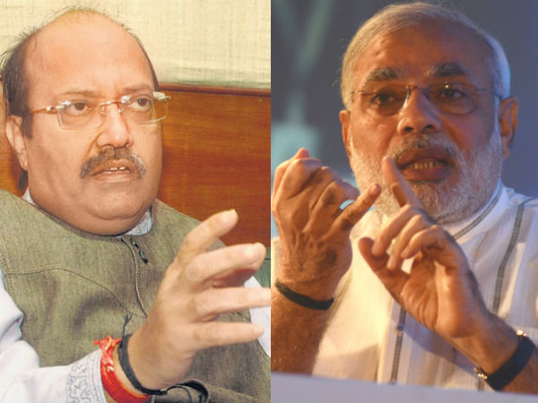 Modi Is My Brother In Law I Wont Make Any Comment Amar Singh