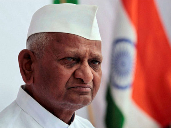 Anna Hazares Back Start Fast Jan Lokpal From Today