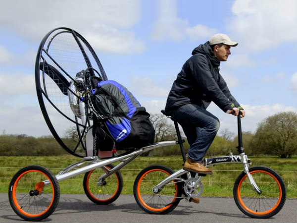 Xploreair Paravelo Flying Bicycle Is Also A Tent