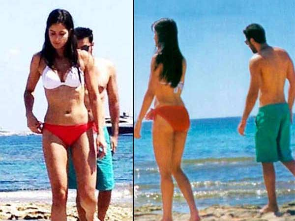Katrina Happy After Her Bikini Picture With Ranbir Leaked