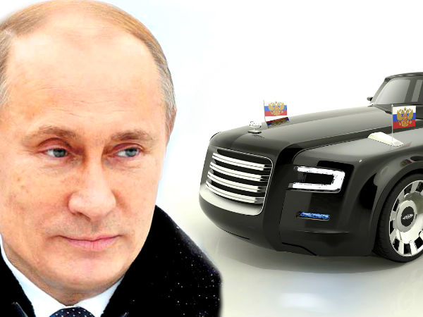 This Could Be Russian President Putin S New Car