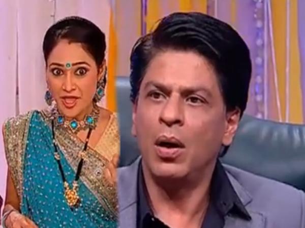 Why Shahrukh Shoked On Naughtiness Of Daya