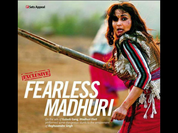 Madhuri Dixit Will Do Action In Gulaab Gang