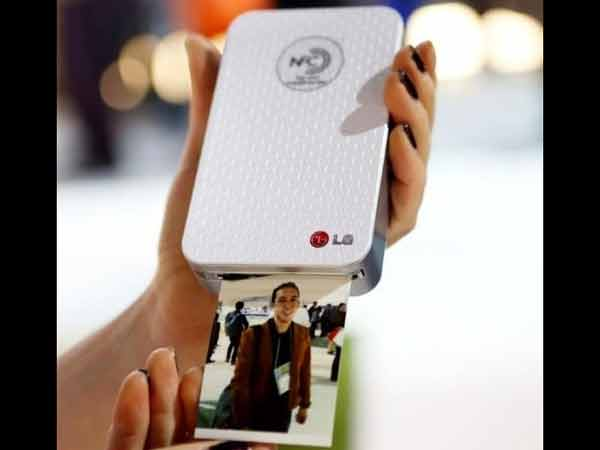 Lg Pocket Photo Printer Launched Rs 14990 India