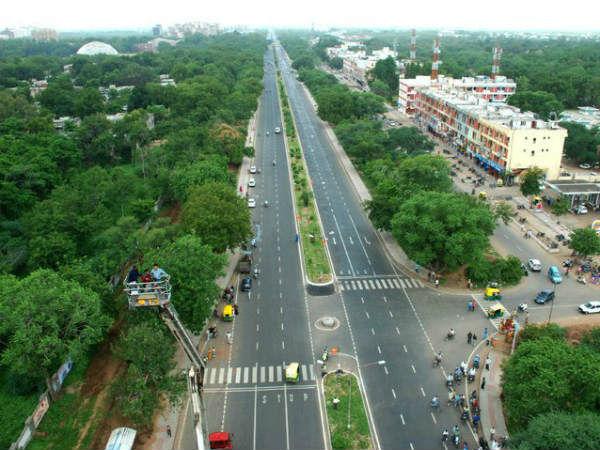 G'nagar:રસ્તાઓની કમાલ, ક્યારેય આંખમાં પડતો નથી તડકો