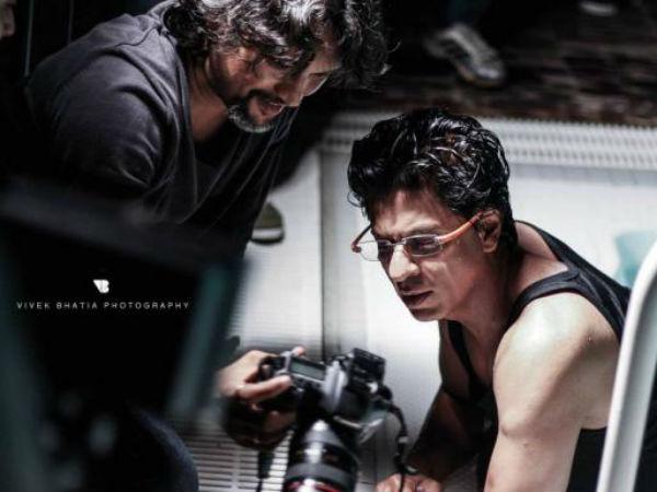 Behind The Scenes Shahrukh S Filmfare Shoot