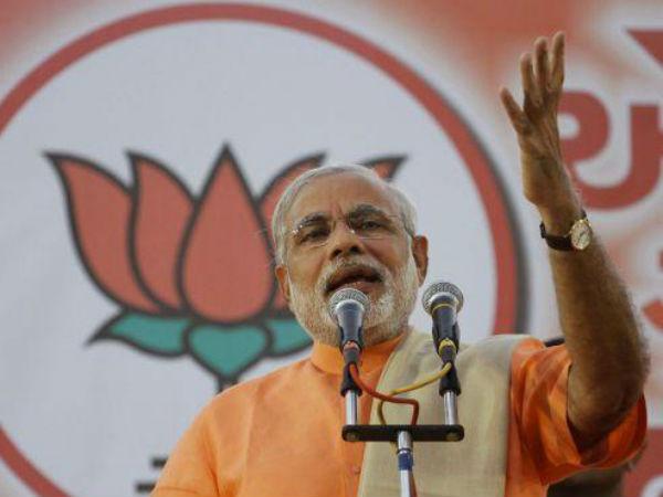 New Bjp Slogan 2014 Polls Modi Be Poster Boy