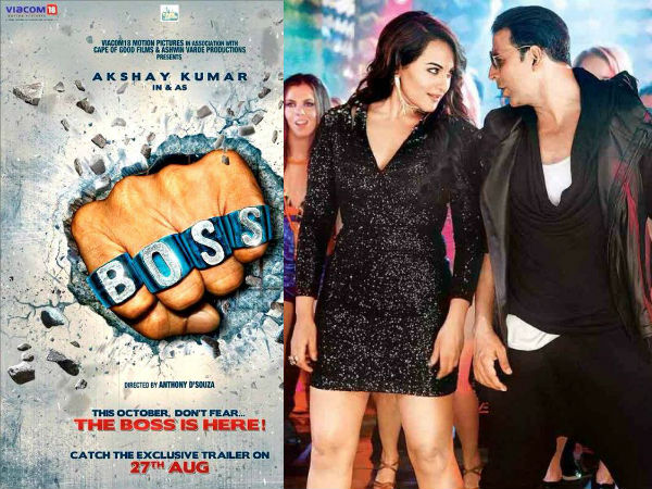Akshay Sonakshi Do Item Song In Boss
