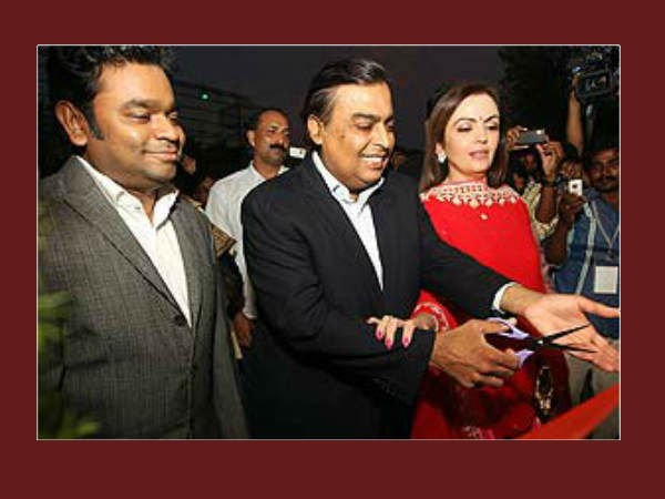 Mukesh Ambani Inaugurates Ar Rahman S Music College In Chennai
