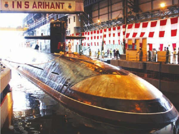 Navy S New Strength Ins Arihant Nuclear Reactor Start