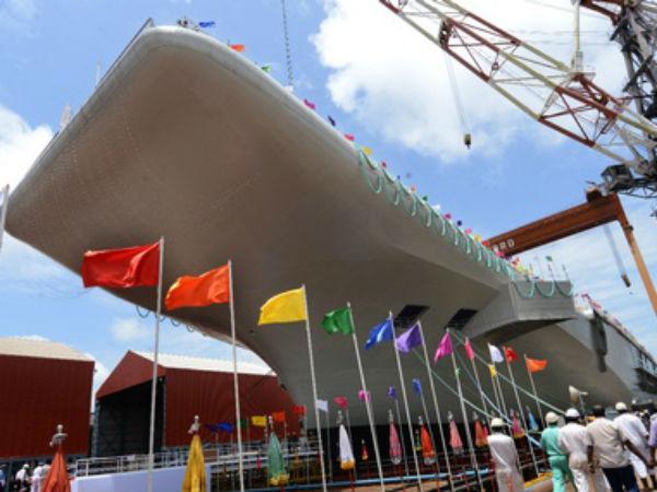 India Launch Ins Vikrant Kochi