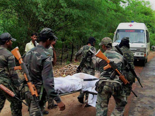 Cops Killed Gadchiroli Naxal Attack