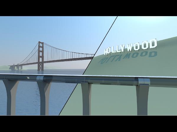 Elon Musk Reveals The Hyperloop High Speed Train